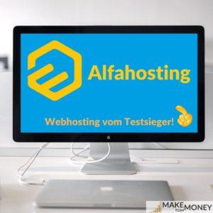 alfahosting webhosting website