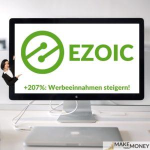 Ezoic Plattform: Monetarisierung steigern