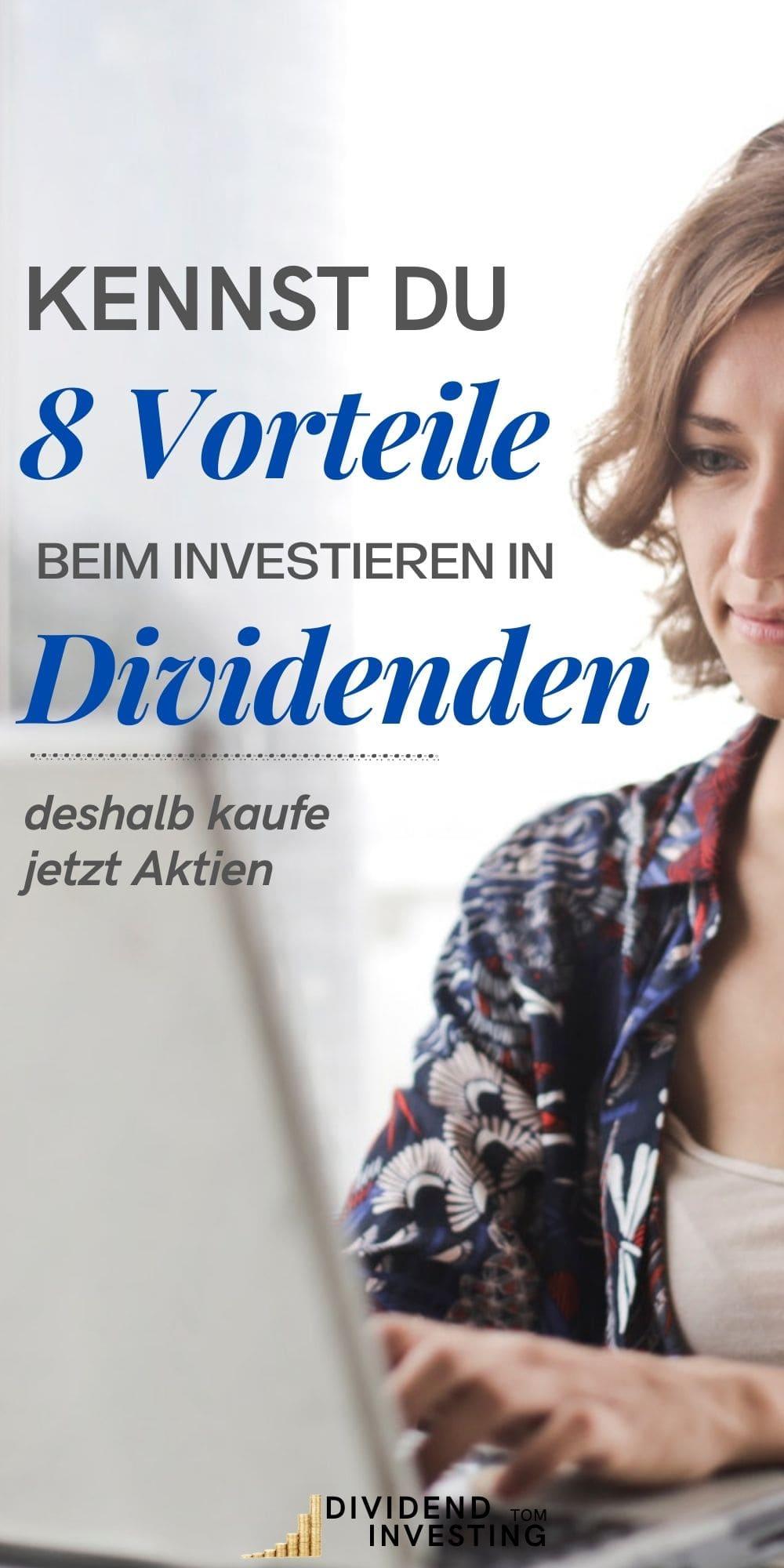 8 Vorteile von Dividenden-Investments