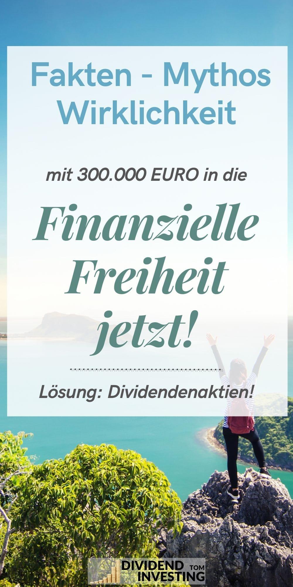 Finanzielle Freiheit mit Dividende
