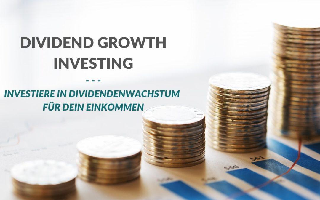 Einkommens-Konzept Dividend Growth Investing